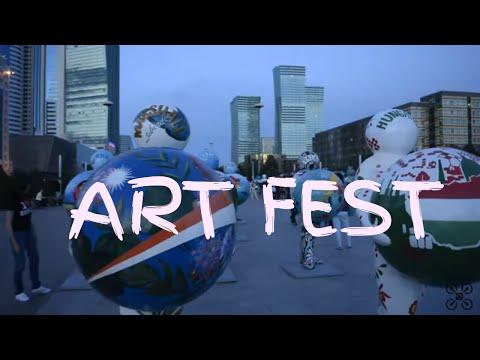 ART FEST Astana. Арт фестиваль Астана. Art festival. Kazakhstan