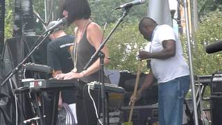 Phantogram All Dried Up Live Lollapalooza Grant Park Chicago IL August 6 2011 Day 2