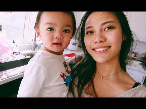vlog #42 ▸ SEHARIAN DIRUMAH SAMA BABY ETHAN!! MAINA KANGEN :(