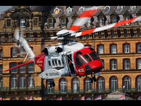HM Coastguard / RNLI Lifeboat Display - Scarborough
