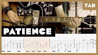 Patience Guns N' Roses Cover | Guitar Tab | Lesson | Tutorial
