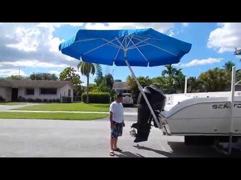 Umbrellas4boats 2 How To Dismount The Umbrella Yt