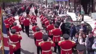 Pride of the Raven @ 36TH Ulster Division Review Centenary Parade 2015