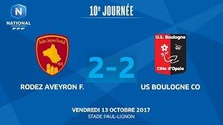 Rodez vs Boulogne full match