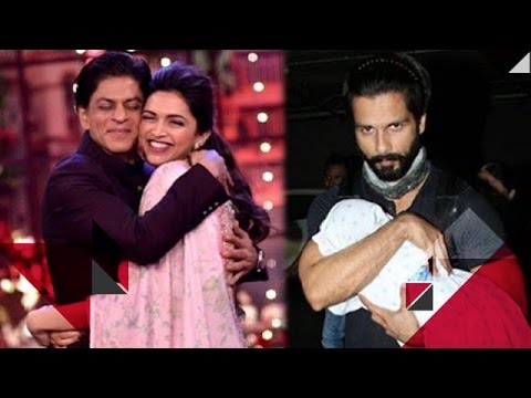 Sharukh Khan Says Deepika Is Very Emotional | Shahid Kapoor Over Protective For Daughter Misha