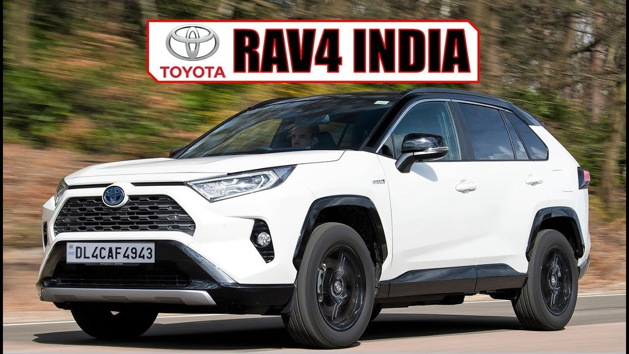 2019 Toyota Rav4 India Review Launch Date Pricing Features And