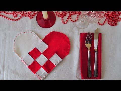 Make Scandinavian Woven Heart Placemats - DIY Home - Guidecentral