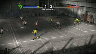 FIFA Street 3 Xbox 360 Video - Gamebreaker Action
