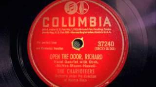Open The Door, Richard!  LIVE - Charioteers