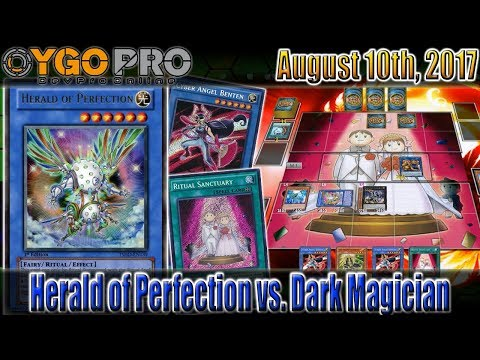 Yu-Gi-Oh! Herald of Perfection vs. Dark Magician - Finally a YGOpro With Links That Works (kinda…)