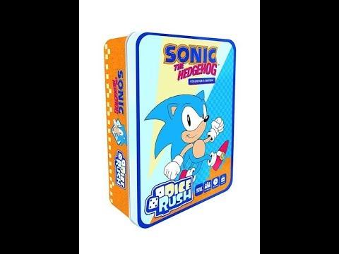 The Hedgehog Dice Rush Gen x games Juego de Dados Sonic