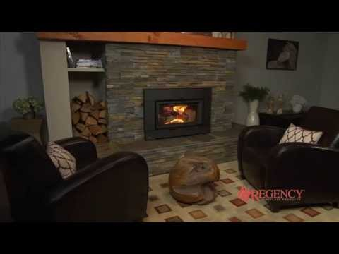 regency alterra ci1200 wood fireplace insert youtube rh youtube com