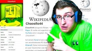 ICH bin OFFIZIELL AUF WIKIPEDIA?! - Minecraft [Deutsch/HD]