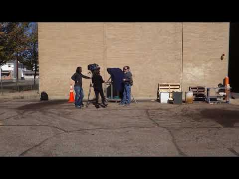 Captain's Blog 10 17 2017 Solar Death Ray video shoot for news crew