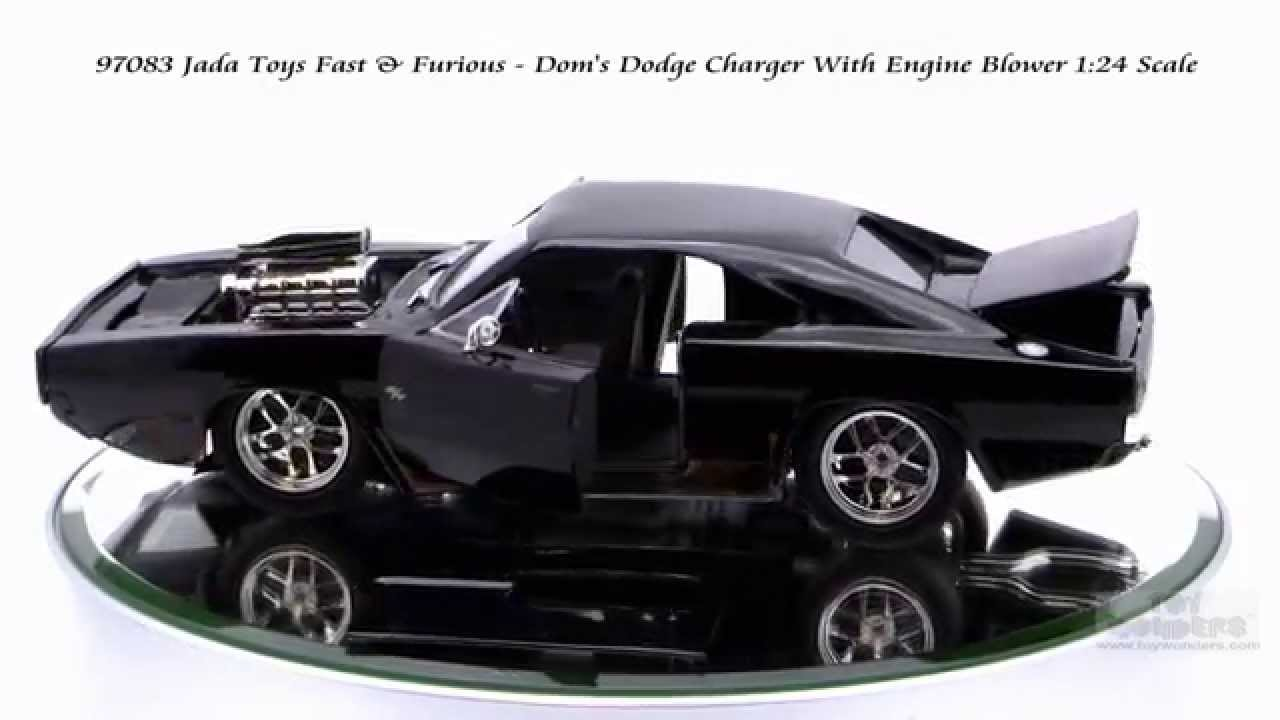 97083 Jada Toys Fast Amp Furious Dom S Dodge Charger With