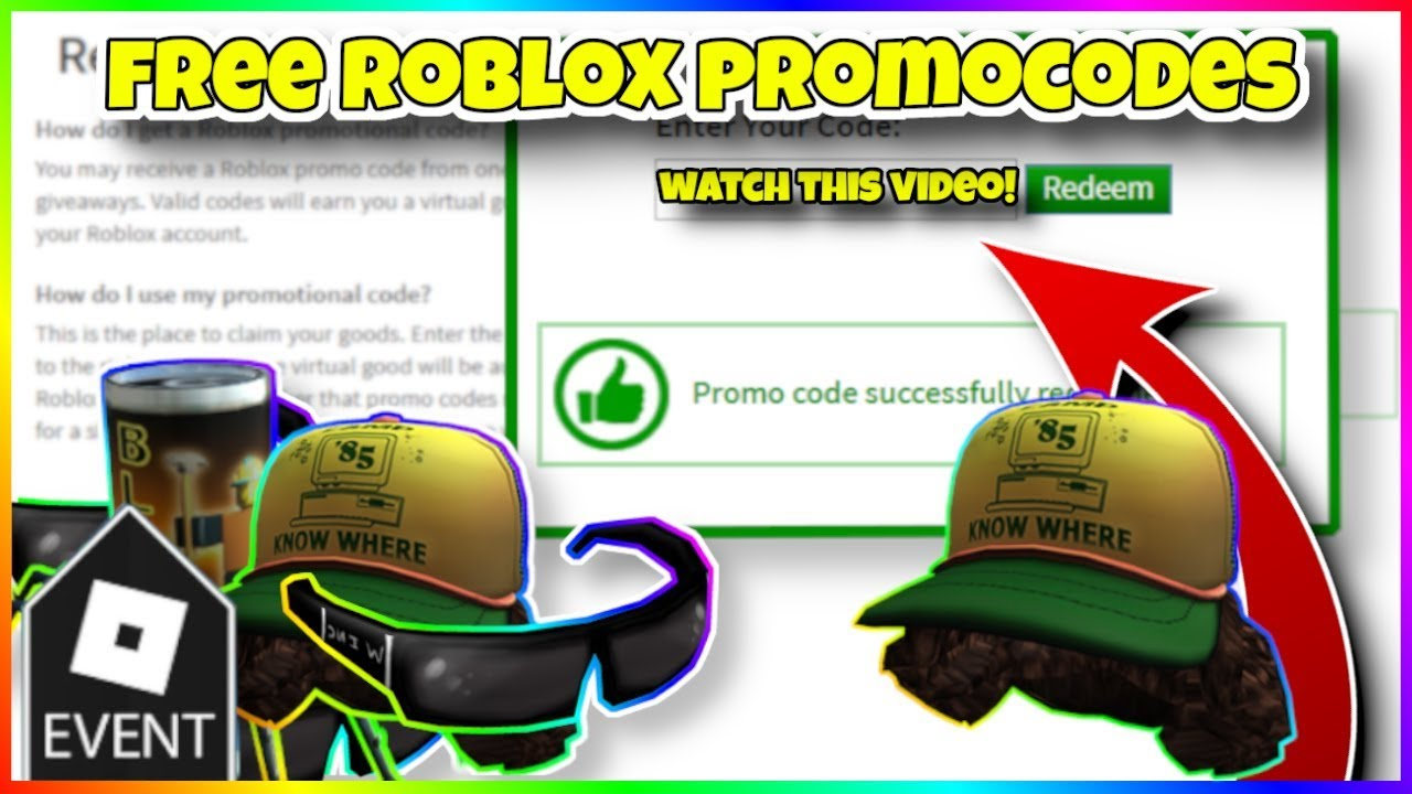 All Roblox Promo Codes 2019 September All Working Promocodes In Roblox 2019 Roblox Promo Codes Youtube