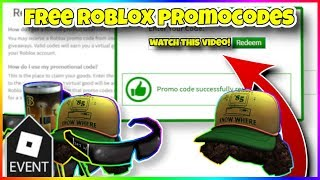 ALL *WORKING* Promocodes IN ROBLOX 2019! | ROBLOX PROMO CODES (October 2019 - COMMENTS!)