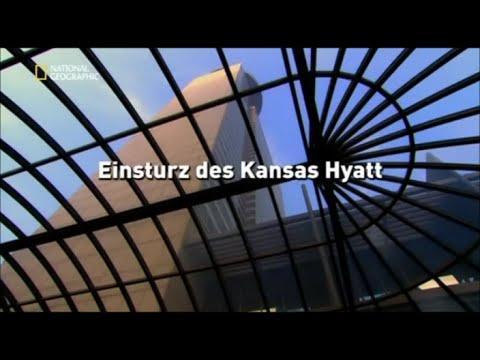 27 - Sekunden vor dem Unglück - Einsturz des Kansas Hyatt