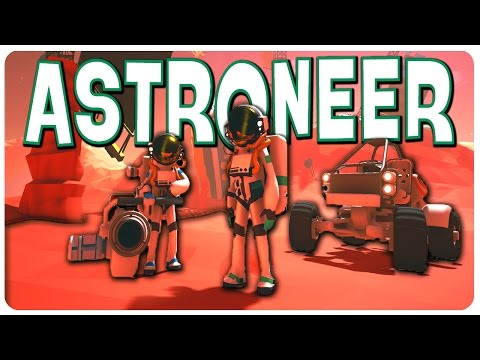 Building and Surviving in Space! - Astroneer Gameplay - Let's Play Astroneer Part 1 (PC Walkthrough) - 동영상