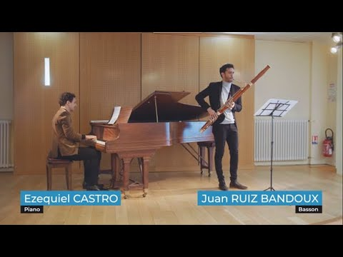 Dialogue entre basson et piano