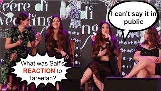 Kareena Kapoor's SHOCKING Response To Saif's Reaction to Tareefan | Veere Di Wedding Music Launch