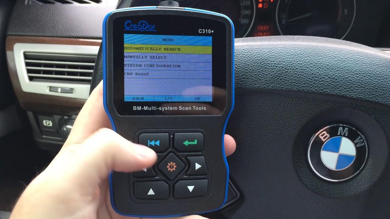 Диагностика BMW MINI Creator C310+ видеообзор BMW Code Reader C310 +
