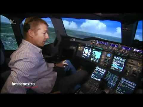 Airbus Flug Simulator A380-800 Frankfurt