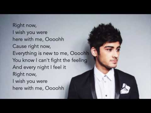 One Direction - Right Now (Lyrics+pictures)