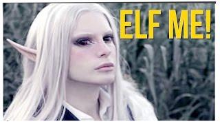 Man Transforms Himself Into An Elf! ft. Ricky Shucks & DavidSoComedy