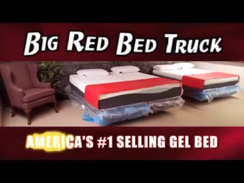 Big Red Bed Truck Warehouse, Sioux Falls, SD.