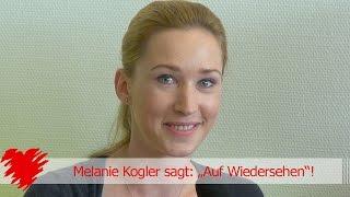 """Melanie Kogler sagt: """"Auf Wiedersehen""""! - HD"""