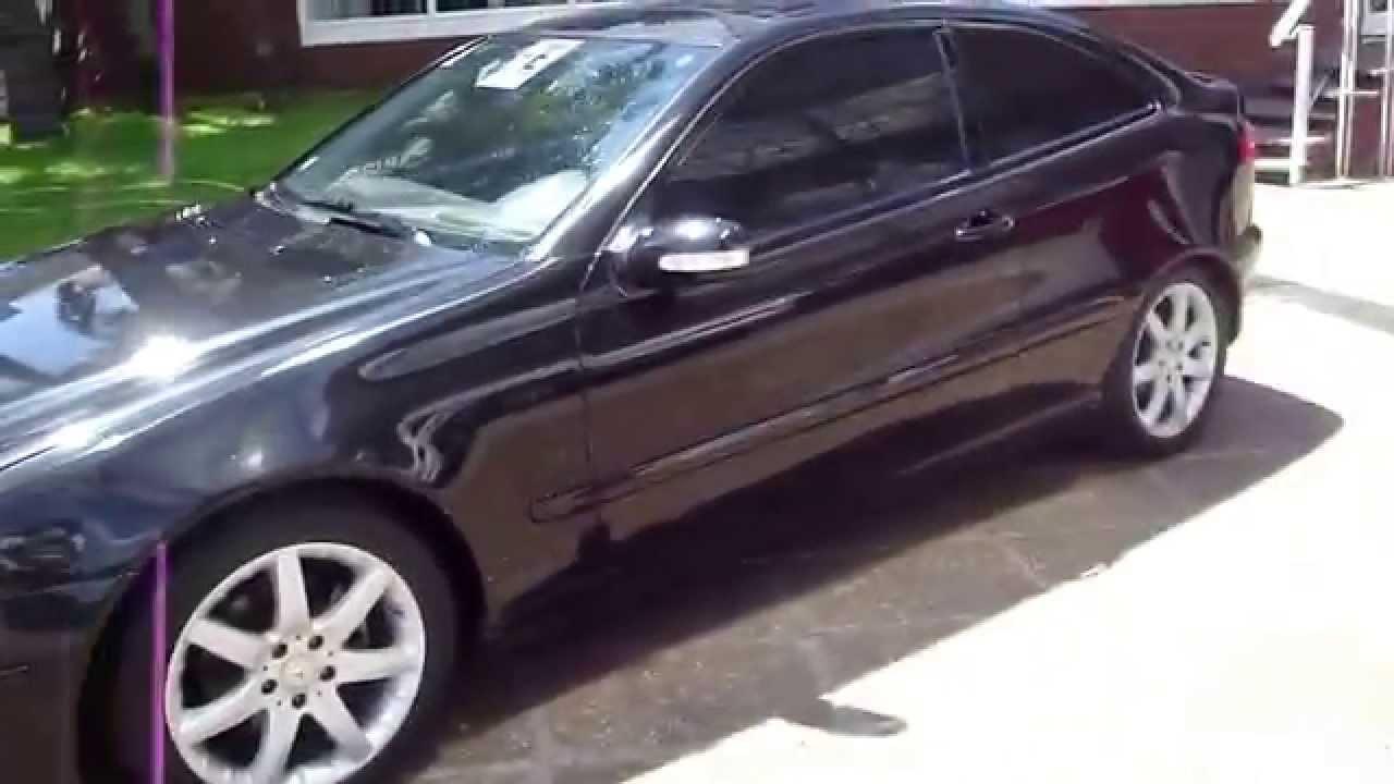 Mercedes Benz C200 Kompressor Sportcoupe Evolution 2001 Youtube