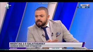 Beşiktaş Attıkça Kerem İnan Çıldırdı ! Beşiktaş 3 - 0 Galatasaray