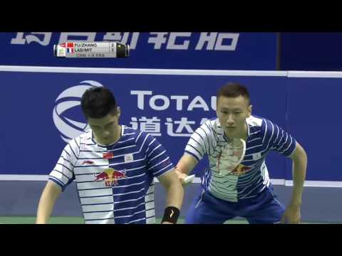 Thomas Cup Finals 2016 (France vs China) - Match 2 - MD - Haifeng/Nan vs Labar/Mittelheisser