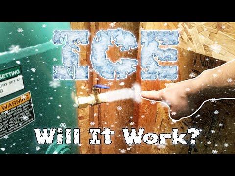 CRAZY!!! Air Compressor Makes ICE!