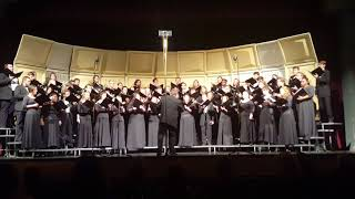 Angels we have heard on high - Harding University Choir Christmas concert 2017