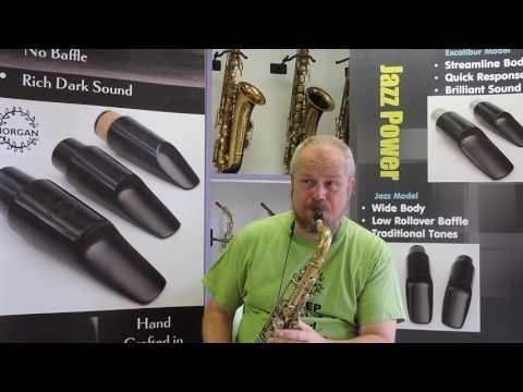 Morgan Jazz Model Medium Chamber Tenor Saxophone Mouthpiece Demo