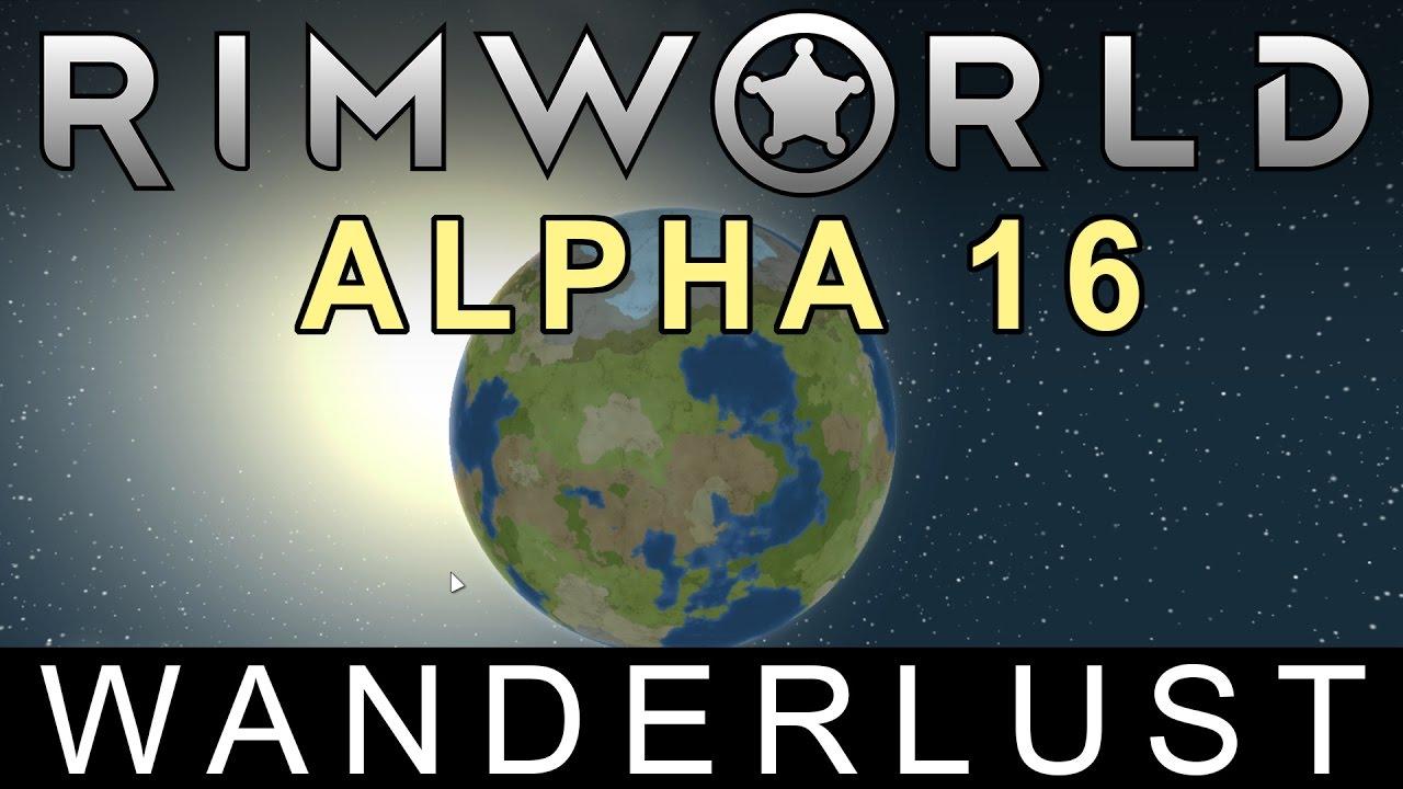 Ludeon Studios − RimWorld Alpha 16 – Wanderlust released!