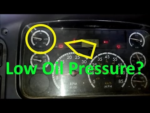3126 Caterpillar Fuel Filter Truck What Causes Low Oil Pressure Troubleshooting And Causes