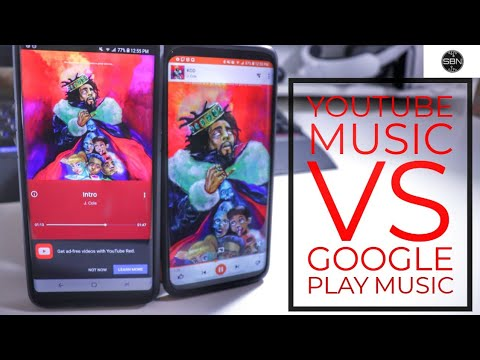 YouTube Music Vs Google Play Music