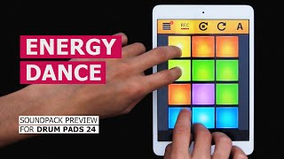 DRUM PADS 24 - ENERGY DANCE