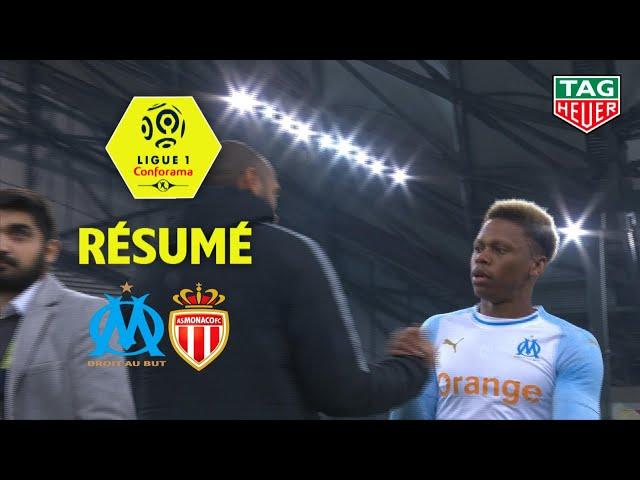 Olympique de Marseille - AS Monaco ( 1-1 ) - Résumé - (OM - ASM) / 2018-19
