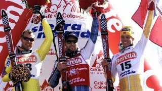 Lasse Kjus wins downhill (Sierra Nevada 1999)