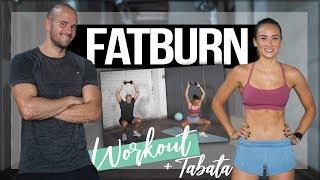 30 Minuten MAXIMALE FETTVERBRENNUNG | HIIT FATBURN Workout mit Hanteln