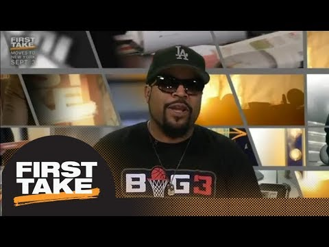 Ice Cube gives his take on whether LeBron James can achieve greatness in LA | First Take | ESPN