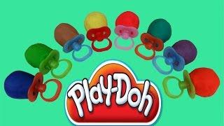 Lollipop Pacifier Play-Doh Surprise Eggs Kinder Toy Surprise Peppa Pig Mickey Mouse Elves Thumbnail