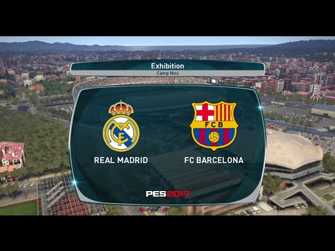 PES 2017 PS4 Gameplay - Real Madrid (Time e Uniformes atuali