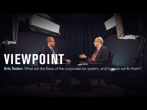 What are the flaws of corporate income tax, and how do we fix them? - Full interview | VIEWPOINT