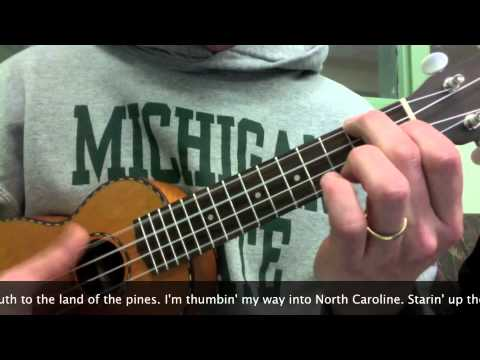 How to play Wagon Wheel on Ukulele