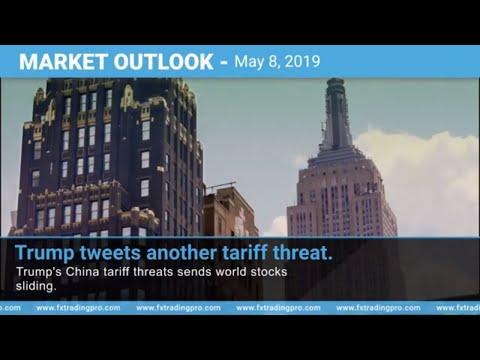 Trumps Tariff Tweet Threat Send Markets Sliding - Forex News - eurusd, crudeoil, usdjpy, gbpusd